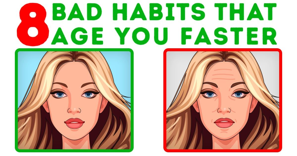 8 Bad Skin Habits That Age You Faster