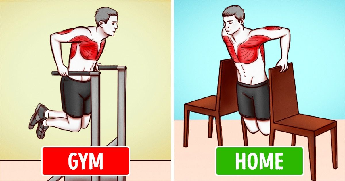 6 Gym Exercise Alternatives You Can Do At Home
