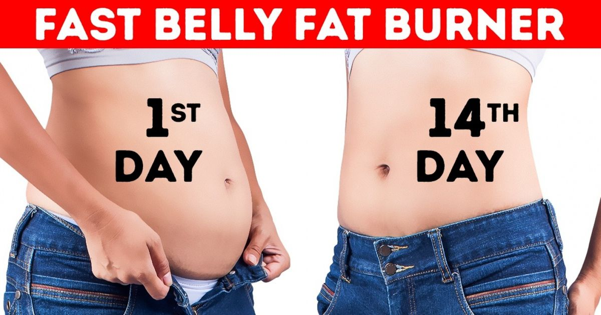 Get a Flat Tummy in 14 Days With This Magical Drink