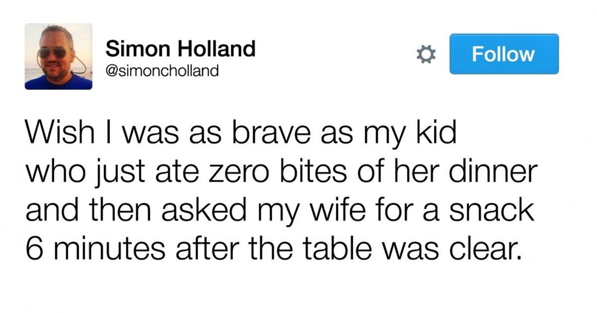 13 Side-Splitting Tweets from People Who Have Mastered Family Life
