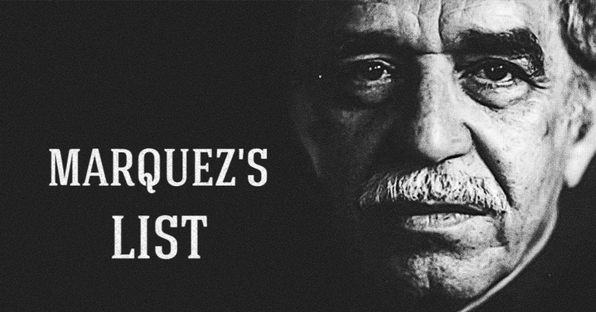 Marquez's list: 24magically written books