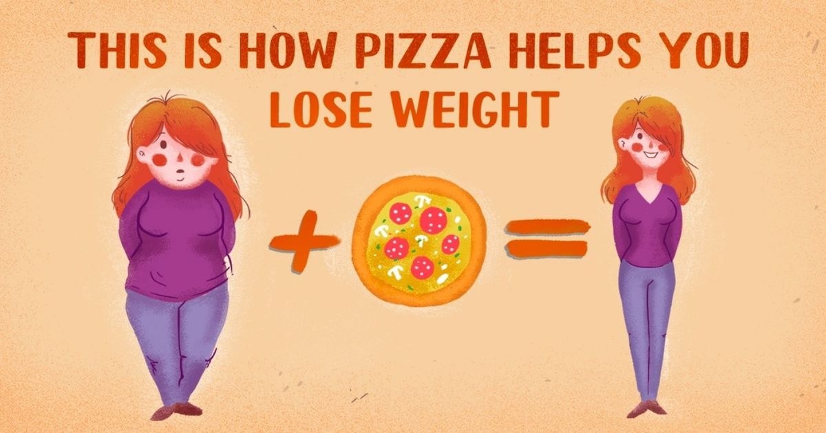 How to lose weight: eat pizza, say experts