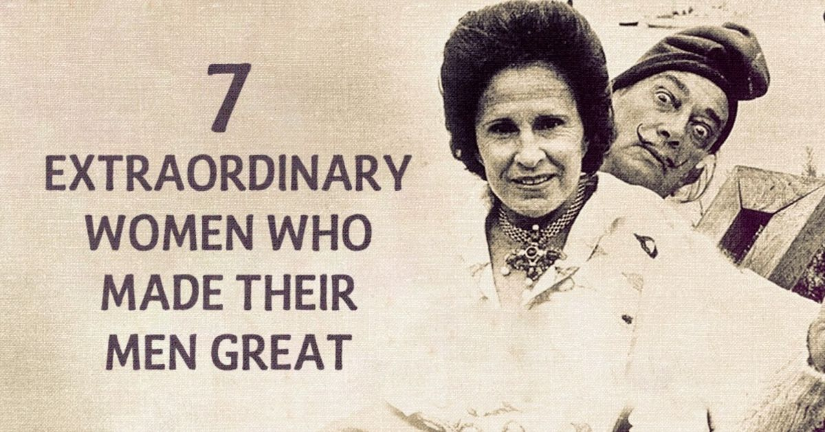 Seven truly extraordinary women who made their men great
