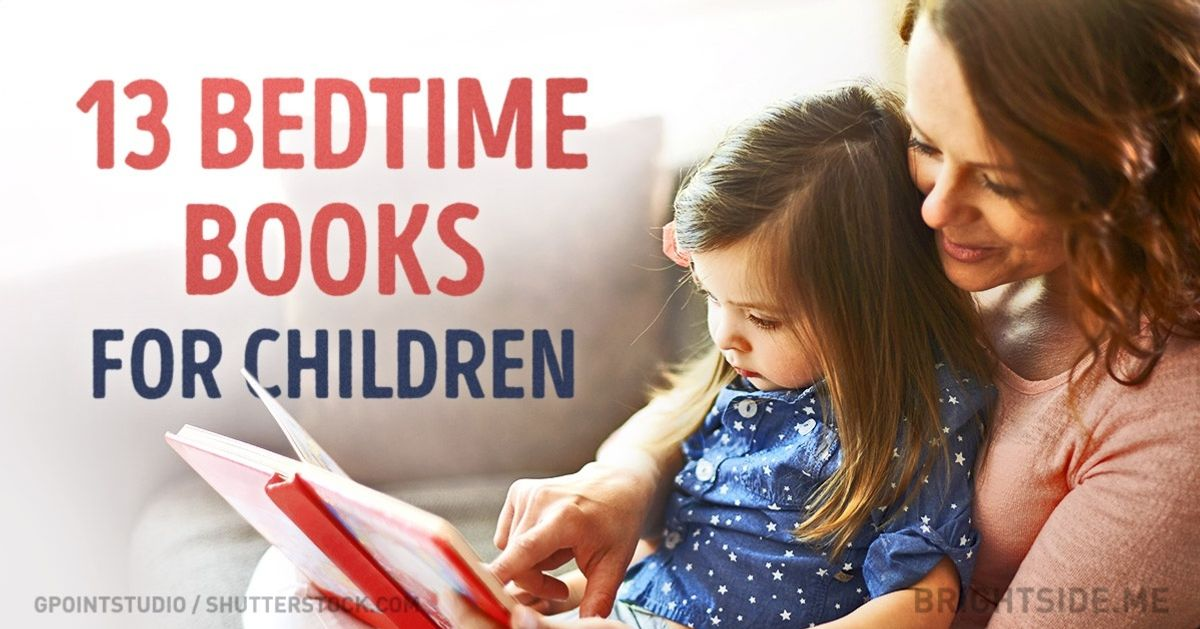 13 amazing bedtime books for children