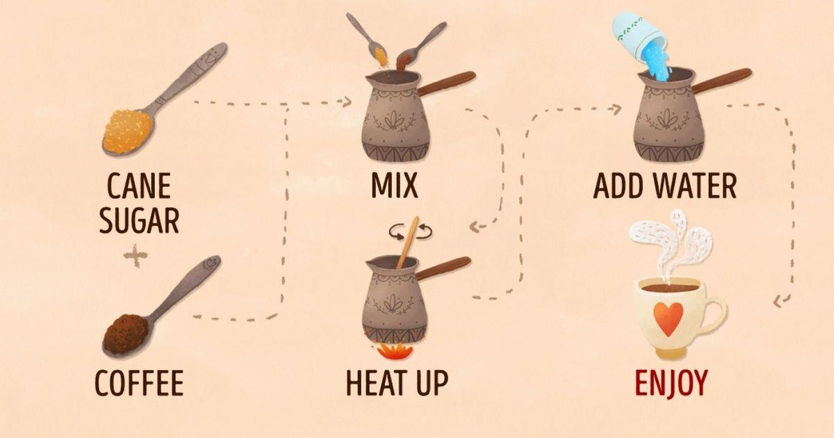 Ten ideas tomake coffee even more delicious