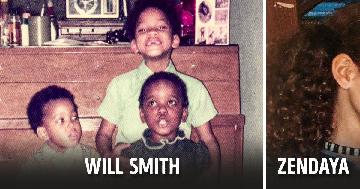 15+ Childhood Photos of Celebrities That Conjure Up Memories of Our Own