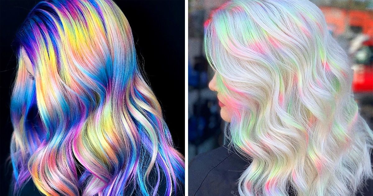 Holographic Hair Is the New Trend for Anyone Who Wants to Release Their Inner Unicorn