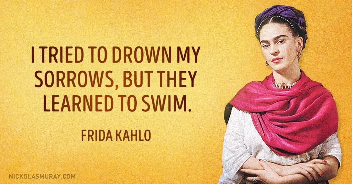 15convincing and inspirational quotes from Frida Kahlo