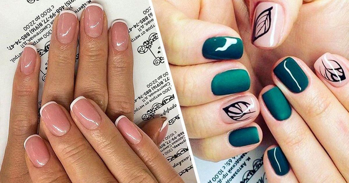 20Stylish Manicure Ideas for Short Nails