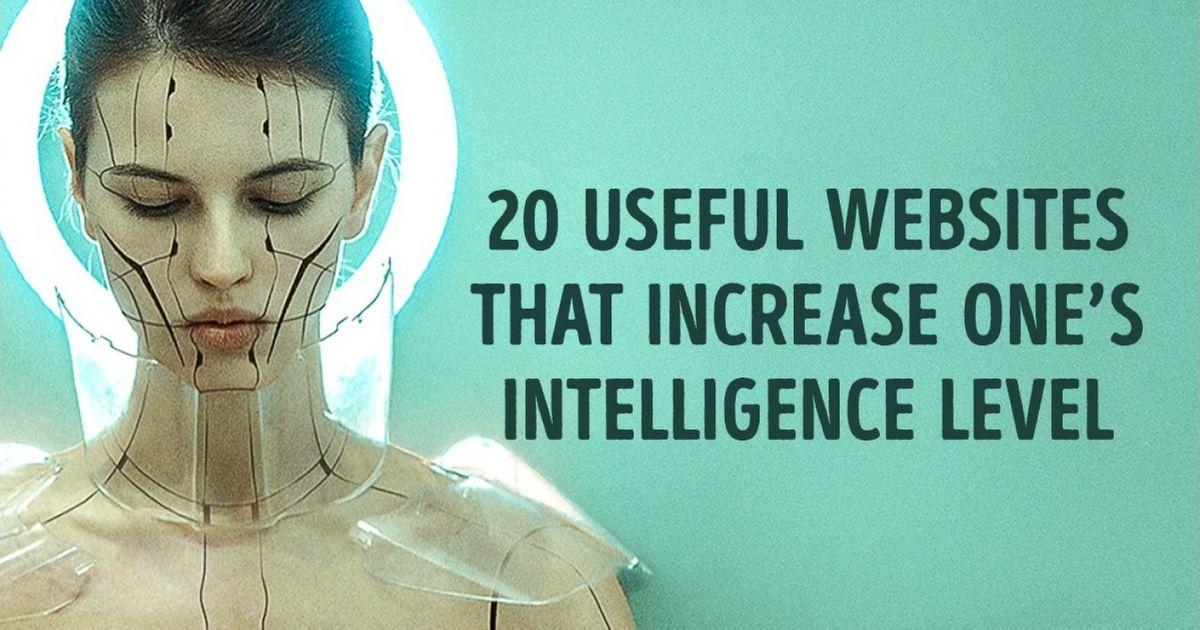 20Useful Websites That Increase One's Intelligence Level