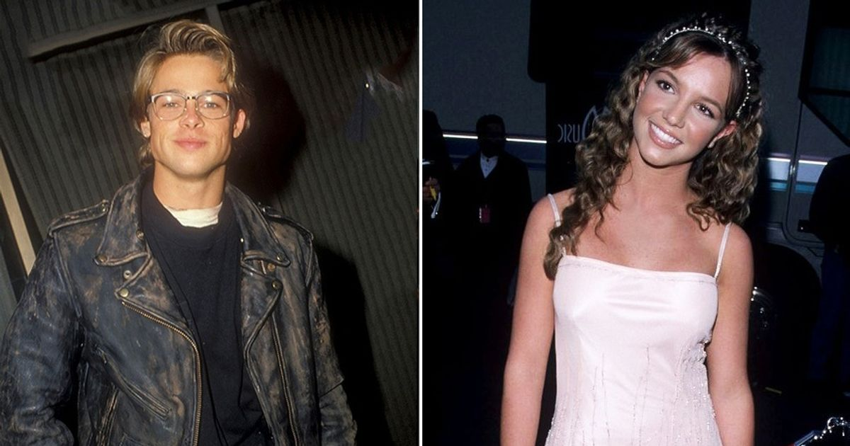 20celebrities and their very first red carpet photographs