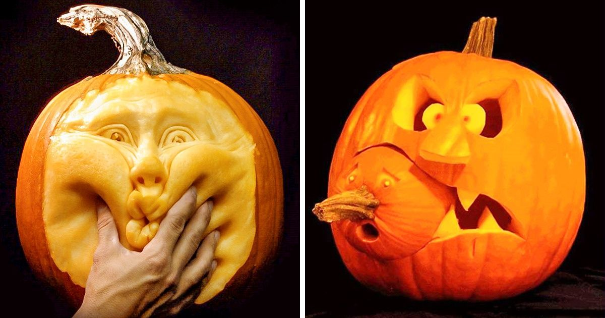 20 People Who Took Pumpkin Carving to a Whole New Level