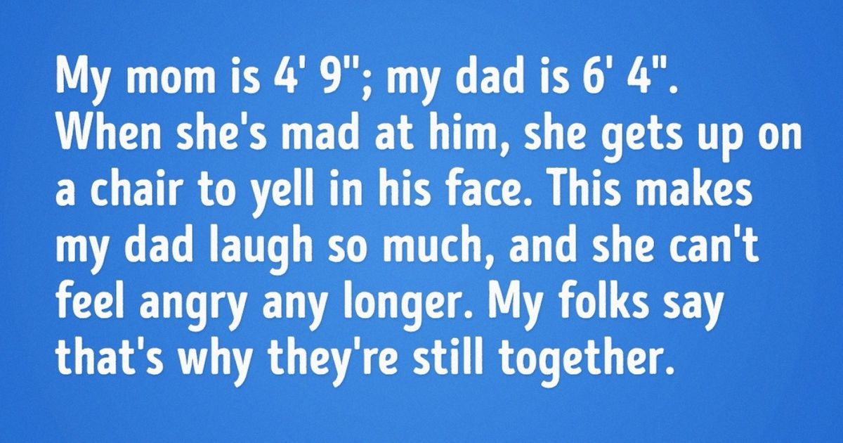"12 Fascinating ""Overheard"" Stories of Family Life"