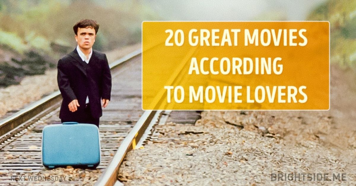 20 great movies according to movie lovers