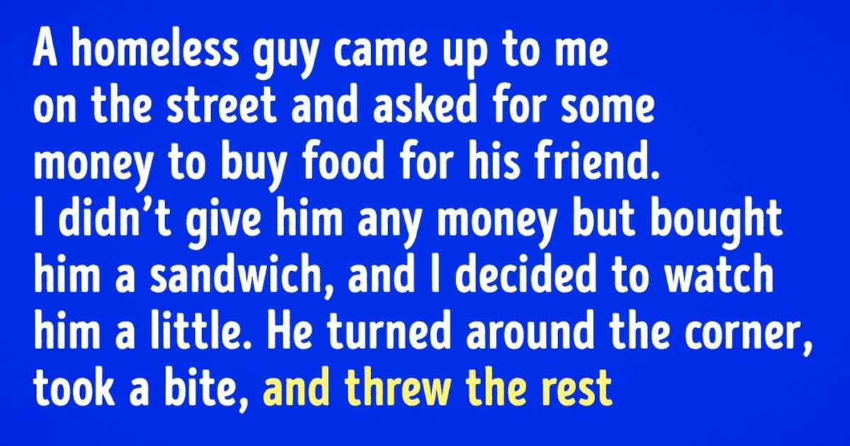 13 Overheard Stories Proving That Anyone Can Do Good Things