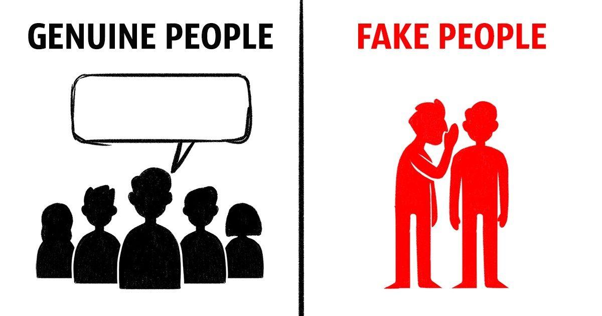 Fake person