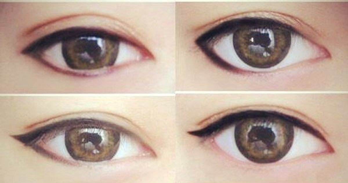 Apply Eye Makeup According To Your Eye Shape