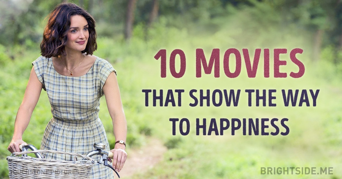 Ten essential movies that will show you the way to happiness