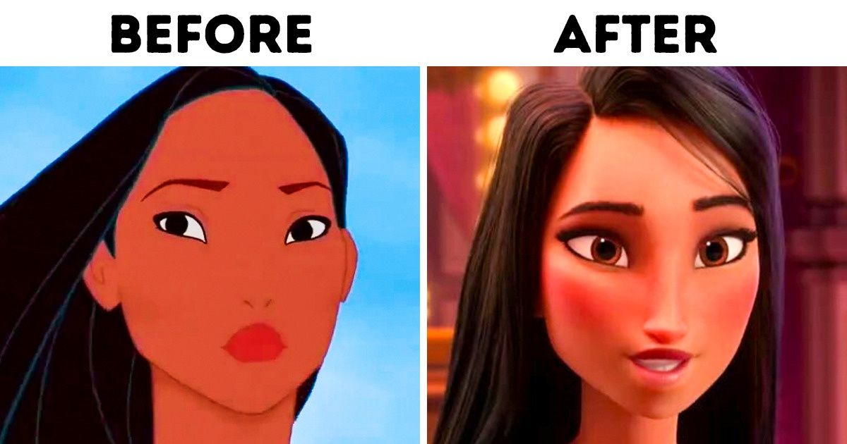 Why Disney Started To Create Identical Female Characters And What