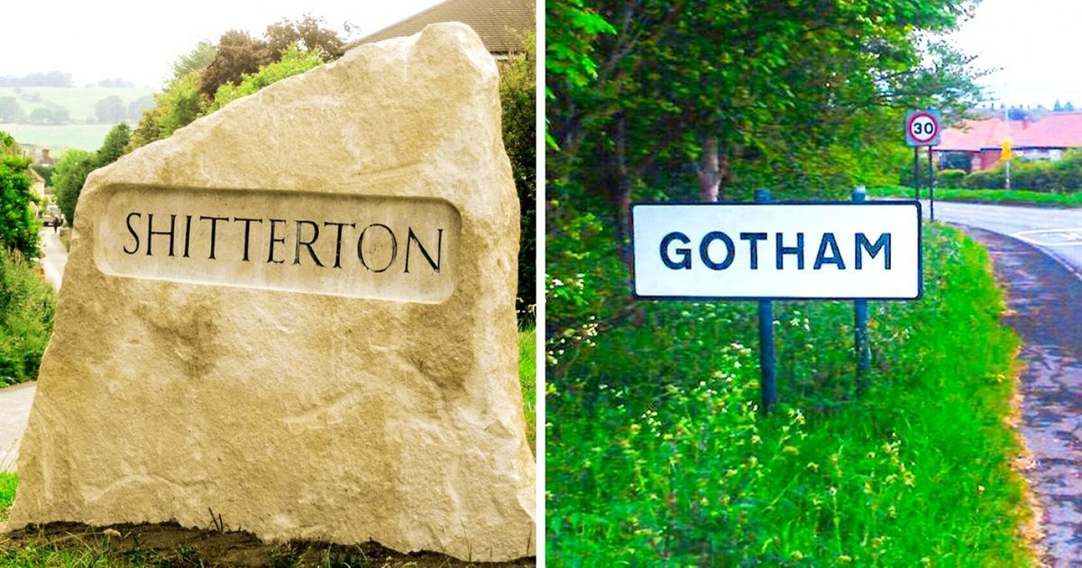 9 Hilarious City Names And The Stories Behind Them