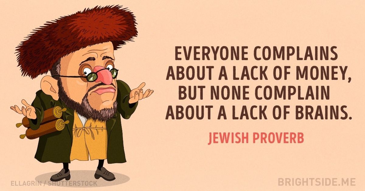 34 wonderfully wise Jewish sayings