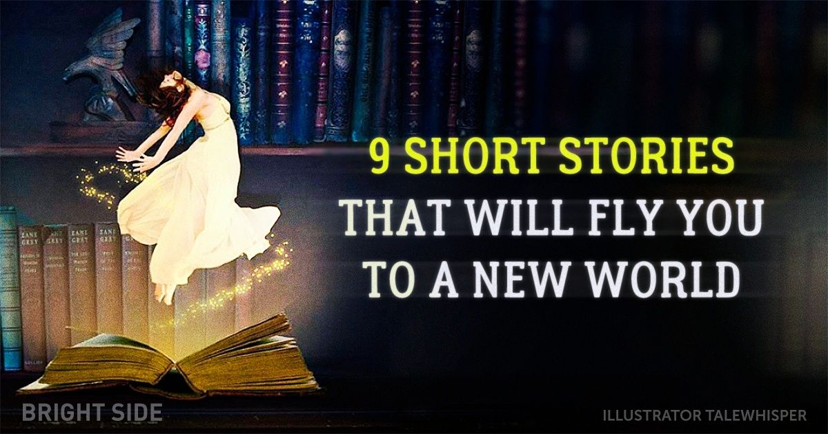 9 short stories that will fly you to a new world