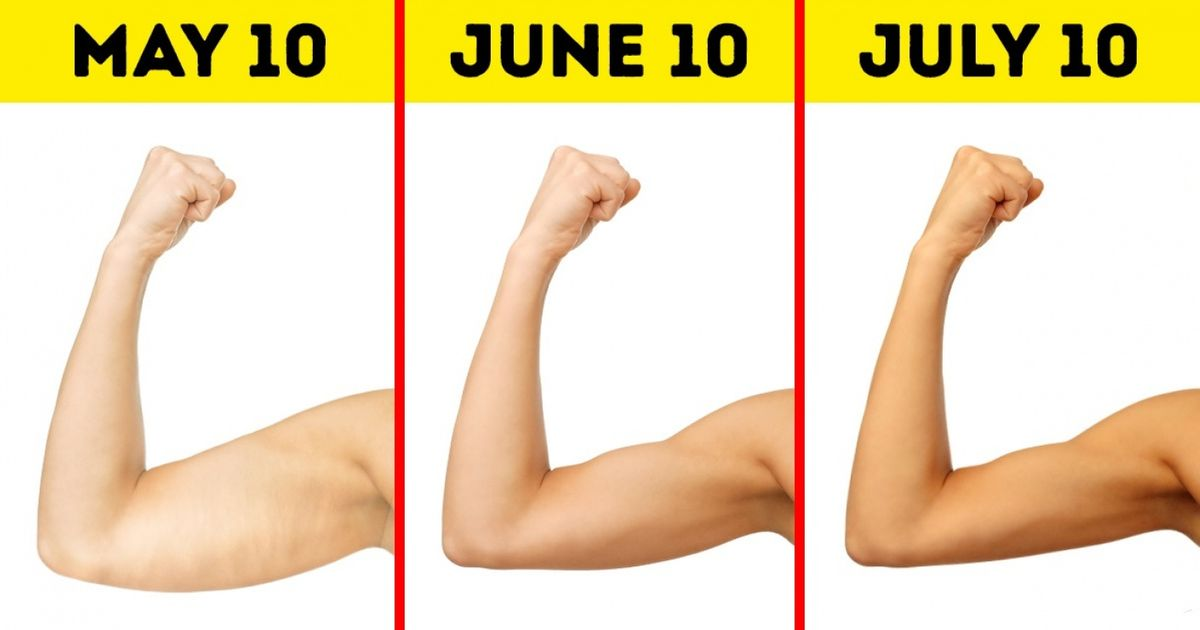 DoThese Quick Easy Exercises for Supermodel Arms
