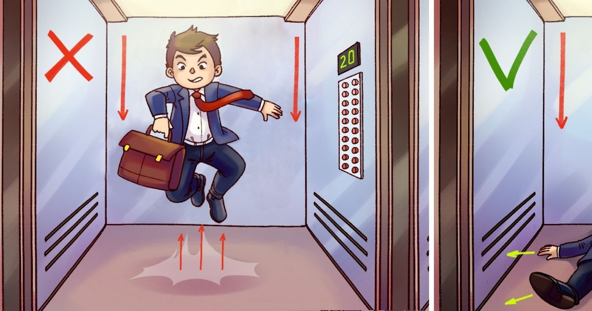 How to Get Out of a Falling Elevator Alive