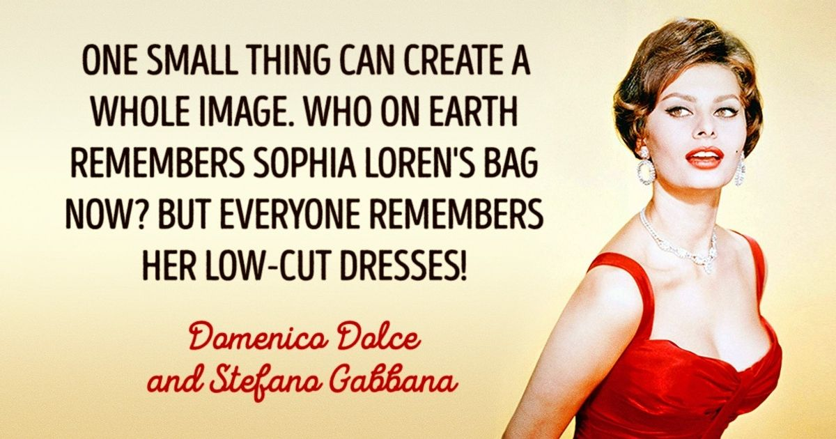 Ten essential secrets from Domenico Dolce and Stefano Gabbana