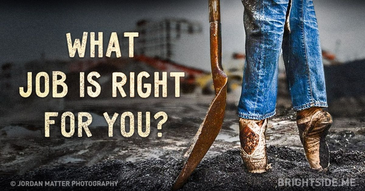 What job isright for you?