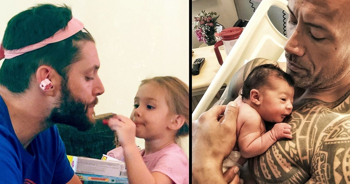 Famous Dads That Can Melt Your Heart With Their Cuteness