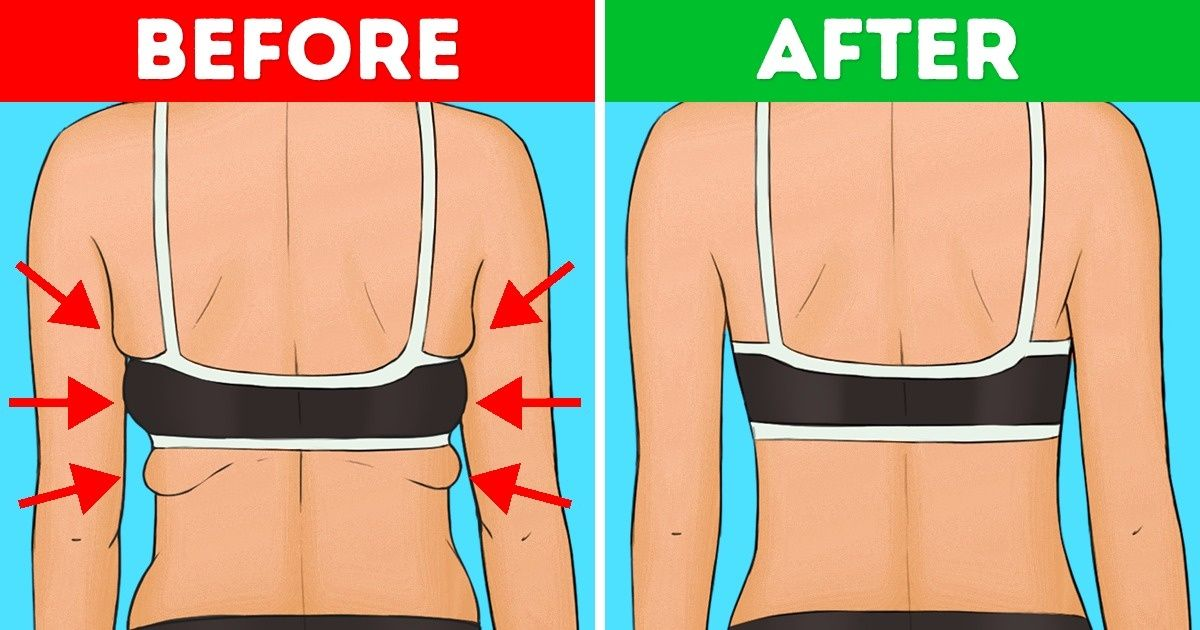 10 Exercises to Get Rid of Back and Armpit Fat in 20 Minutes