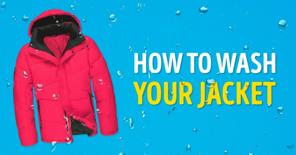 The best instructions for washing your winter jacket ever written