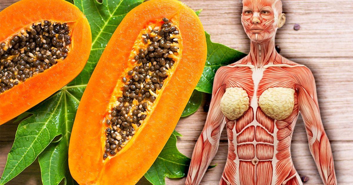 7 choses qui peuvent arriver à votre corps si vous mangez de la papaye une fois par semaine