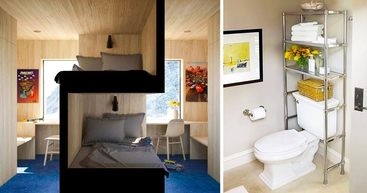 22 Space Saving Ideas To Make Any Small Apartment Feel Cozier