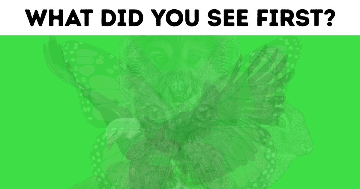 The First Animal You See inthe Picture Reveals aLot About Your Personality
