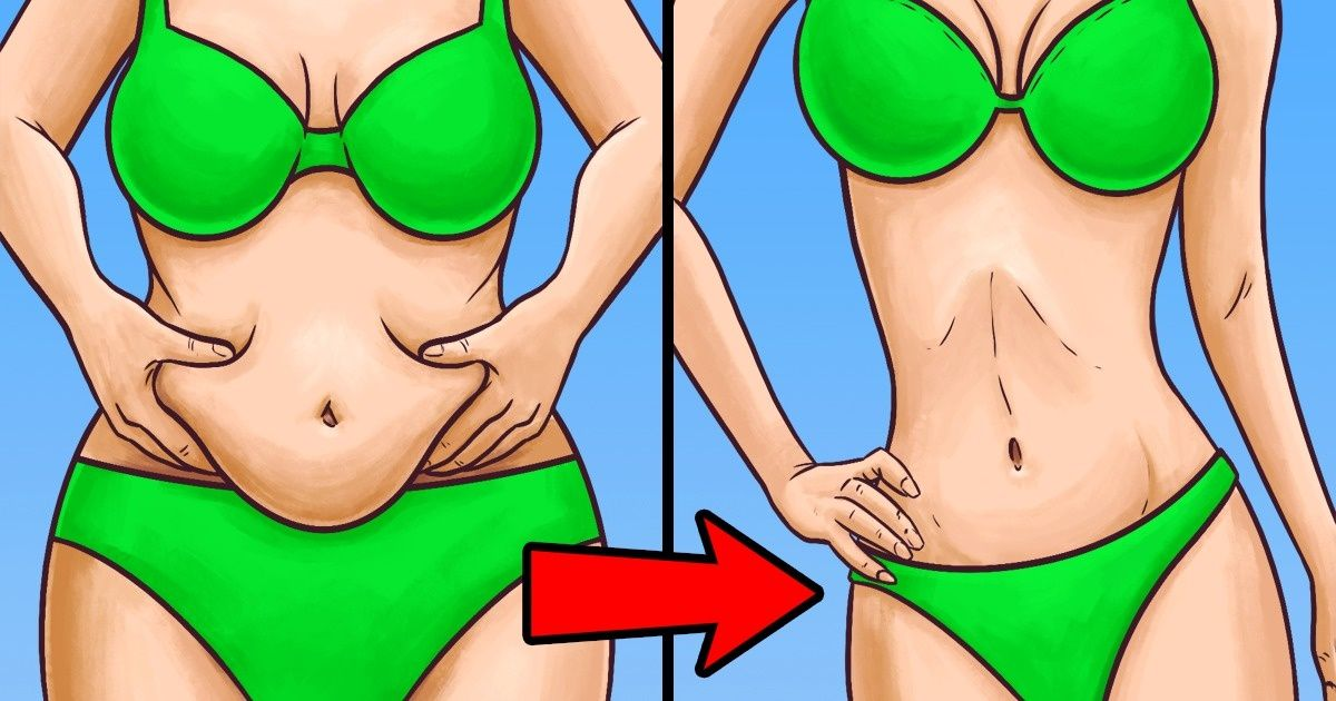 This Secret Will Help You Reduce Inches Around Your Waist inJust5 Minutes aDay