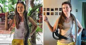 A Traveler Asked People to Recreate Vacation Photos at Home, and They Were Quick to Respond to the Challenge
