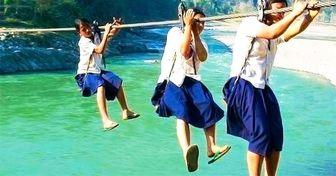 The14 Most Dangerous School Paths and Most Unusual Schools People Actually GoTo