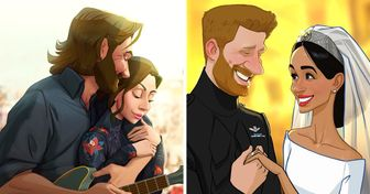AnArtist Makes Cartoon Versions ofCelebrities' Pics, and the Results Are Too Amazing for Words