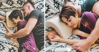 This Pillow Lets You Spoon for Hours Without Squashing Each Other's Arms