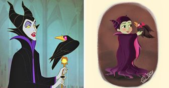 AnArtist Imagines What Disney Villains Could Look Like asBabies, and They're SoSweet WeForgave Them