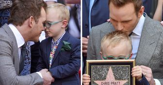 20 Famous Men Whose Toughness Melts Like Snow When They're With Their Kids