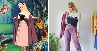 Sisters Show What Famous Characters Would Like in Real Life Using Only Vintage Clothing