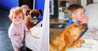 20Times Your Kids and Pets Were onthe Same Exact Page