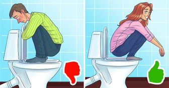 What Position We Need to Choose When Sitting on a Toilet