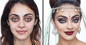 20 People Who Got a New Face After Makeup