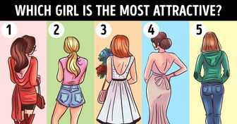 Which Girl Will Be Most Attractive When They Turn Around? Learn What Your Choice May Say About You