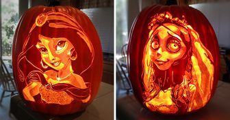 An Artist Turns Pumpkins Into Popular Characters, and Here Are 20 of His Best Creations