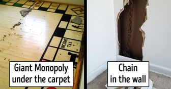 21 Bizarre Things People Suddenly Discovered in Their Houses